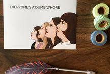 Girls Prints / HBO Girls, Girls TV Show, Lena Dunham, Girls Art Prints