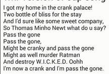 maze runner songs