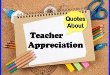 teacher appreciation / by Pam Strausser-Rubinstein