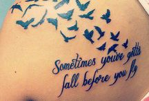 Tattoo ideas / Tattoo ideas and placements
