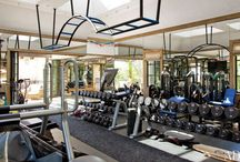 "home gym ideas aka ""my war room"""