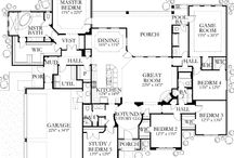 Floor Plans / by Cathy Beaudoin