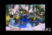 Lucas Lagoons Videos / Collection of Lucas Lagoons videos with grotto waterfalls, pool design process, stone masons, building lagoon pools by Outdoor Designer Lucas Congdon