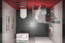 COLOUR DEPTH / Σχεδιασμός και φωτορεαλιστικη απεικόνιση για ανακατασκευή μπάνιου με διάσταση 2,00 x 1.80 m και ύψος 2,40 m.