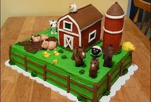 Brayson barn cake / by Rachael Reed