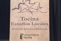 """2015.- Presentación de la Revista de Investigación Local """"Tocina Estudios Locales"""""""