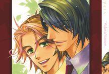 Whispers (one-shot) / Devant son écran de télévision, Renji voit s'afficher le nom de son petit ami parmi les victimes d'un crash aérien. Au bord du suicide une voix familière vient pourtant l'empêcher d'accomplir son geste : Kazuki est devant lui ! Les deux amants arriveront-ils à vaincre la mort pour être enfin réunis et vivre un amour éternel.