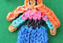 Rainbow Loom Rubber Band Keychains / Cool pics of peoples keychains