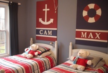 The boys new bedroom