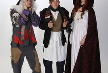 Into the Woods Theatre Costumes