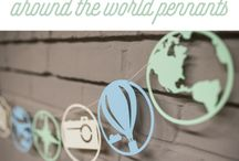 around the world in 80 days buntings