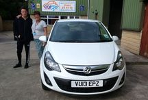 Completely satisfied customers / Pictures of happy customers leaving Cargo Huddersfield in their new cars!