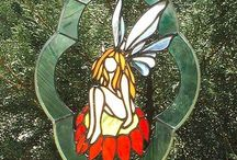 Stained Glass - Fairies