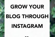 Instagram / Using Instagram to Grow Your Blog