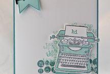 Schreibmaschine tab, tab, tab Stampin' Up!