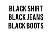BLACK IS BEAUTIFUL / BLACK IS BLACK