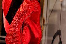 Pointe shoe art