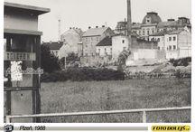 Plzeň, 1988 / Plzeň v roce 1988, foto Pavel Dolejš
