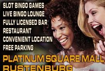 PLATINUM SQUARE BINGO - OPENING SOON / An exciting new gaming store is opening at Platinum Square on Friday 24 January 2014. You can find slot bingo games, live bingo lounge, fully licensed bar and restaurant in a convenient location.   GAME ON!