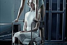 STEVEN KLEIN - PHOTOGRAPHER / Often quite dramatic, harsh and violent styles of photography, working alongside celebrities, creating them into character types, exploring a darker side of the celebrity.
