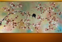 3 in 1 paintings
