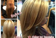 By Danielle / Styles by Danielle, L salon's Color Specialist http://lsalon.com/Danielle #color #colorist #hair #lsalon #beforeandafter #makeover