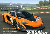 My Real Racing 3 cars / Yes, i am a race addict