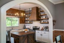 Industrial Country Kitchens