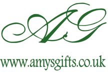 AmysGifts.co.uk / Unique and Useful Gifts Embroidered by Amys Gifts.