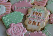cookies shabby chic