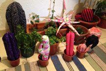 LuckyCaktus / Hermosos cactus de tela, hechos a mano y personalizados. Si quieres hacer un lindo regalo te esperamos...