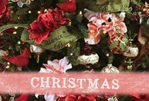 Christmas by Prima / Oh Christmas Tree! Ideas, inspiration, home decor, and more for all your Christmas and holiday crafts! www.primamarketinginc.com