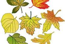 ojas de otoño