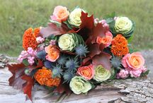 Autumnal Bouquets | Flowers / A sneak peak of our autumnal inspired bouquets ~ available soon from www.okbouquet.com ~ as well as other inspiration