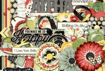 {You Make Me Happy}Kit, Extras and Layouts