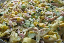 Sałatki z majonezem