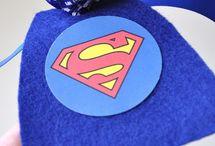 Noahs 1st bday...Superheros! / by Aricia Asano