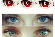 draw eyes color