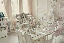 shabby kids bedroom