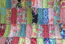 Lapptäcken patchwork