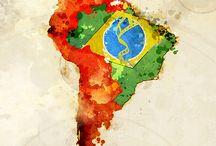Pátria Amada Brasil / Meus País, minha terra, minha pátria!!! Meu ninho, meu porto seguro... Terra abençoada por Deus, rica em todas as belezas! / by Laura Angelo Morais Mardegam