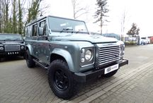 Twisted Defender 110 Utility / A 2016 Defender Twisted 110 XS Utility Station Wagon. Finished in Scotia grey, This Defender has under gone a Twisted conversion.
