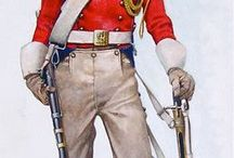 Napoleonic infantry diagrams and art