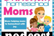Christian Homeschool Moms Podcast & Blog / Christian Homeschool Moms Podcast and Blog- interviews, chats, and inspiring encouragement about homeschooling just for homeschooling moms of faith!