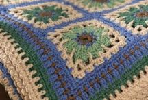 Throw / Restful Tiles Throw Crochet Pattern