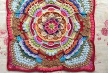Crochet mandala granny