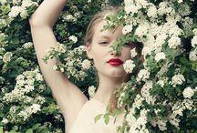 λουλουδια και κοκκινο κραφιον