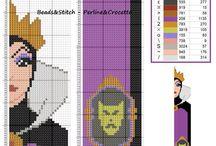Segnalibri a punto croce schemi - Bookmarks cross stitch pattern