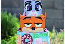 zootopia cake