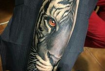 Realistic Animal Tattoos